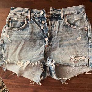 Aritzia Agolde Parker Shorts